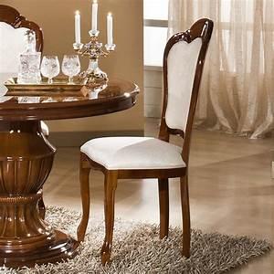 Chaises salle a manger noyer for Meuble salle À manger avec chaise de salle a manger en bois