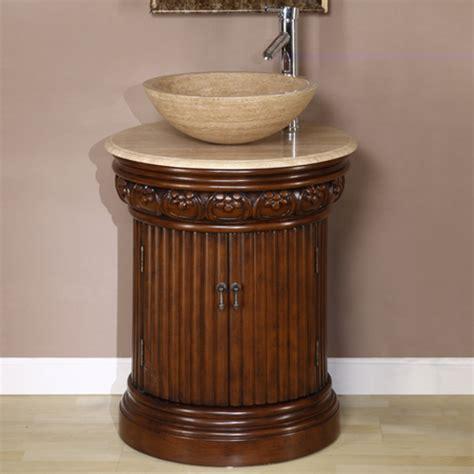 vessel sink vanity  single sink  tiny bathroom