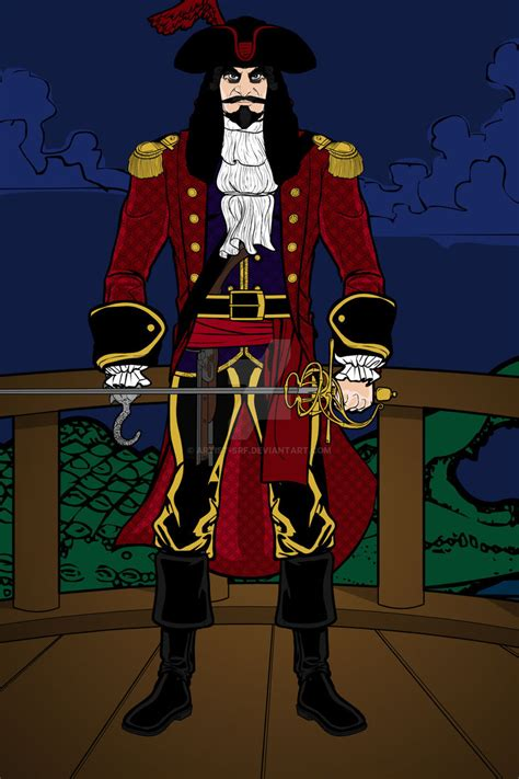 heromachine captain hook  artist srf  deviantart