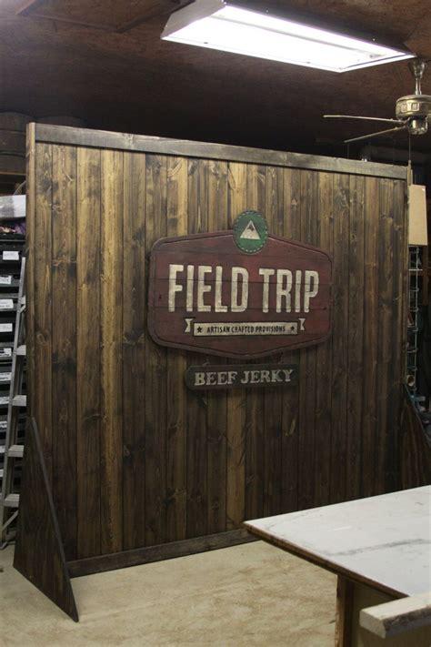 trade show rustic custom portable wall display  shop