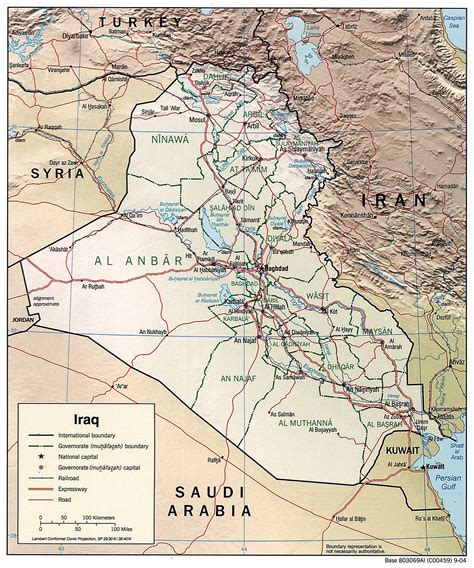 geography  iraq wikipedia