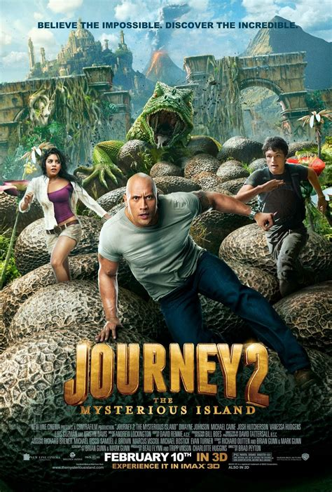Journey 2 The Mysterious Island Trailer