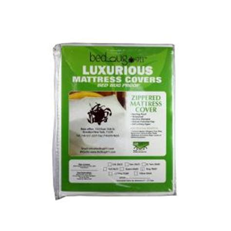 Bed Bug Covers Home Depot bed bug 911 hygea mattress cover dust mites allergen