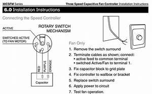 Speed ceiling fan switch wiring diagram household