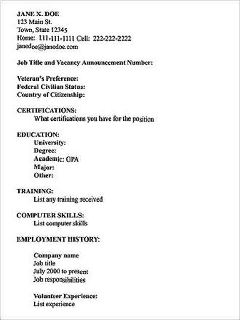 How To Type A Resume For A by Njyloolus A Resume