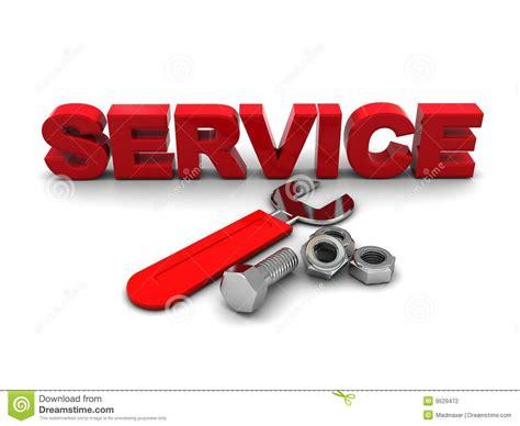 Service Symbol Stock Illustration. Illustration Of