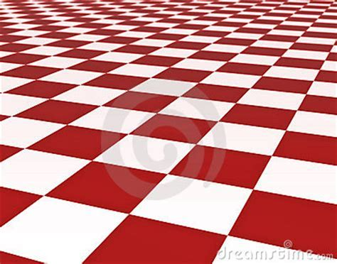 Red And White Floor Tiles Stock Photography   Image: 2891902