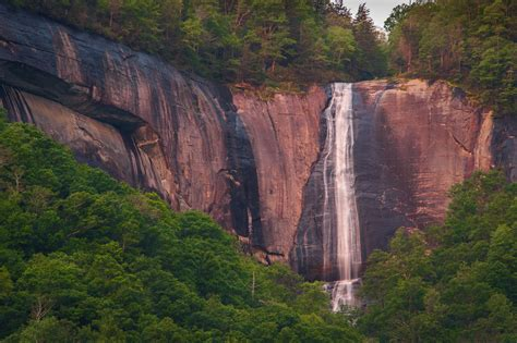hickory falls the 6 most stunning north carolina waterfalls point of blue