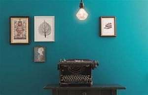 Petrol Wandfarbe Schlafzimmer : wandfarben in petrol kolorat ~ Buech-reservation.com Haus und Dekorationen