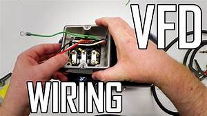 Lathe Vfd 1  How To Wire A 3-phase Motor And Vfd