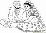 Punjabi Couple Connect Sikhism Dot Worksheet Dots Printable Clipart Cliparts Pdf Email Religions Favorites sketch template