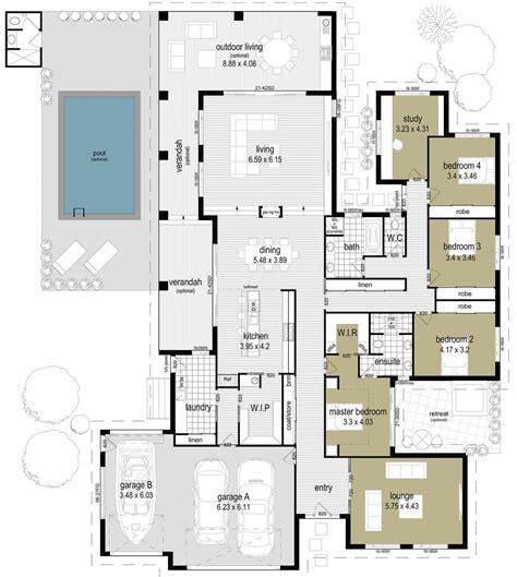 outdoor living floor plans floor plan friday indoor outdoor living with a pool
