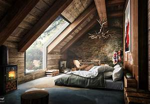 26 luxury loft bedroom ideas to enhance your home With interior design for small attic bedroom