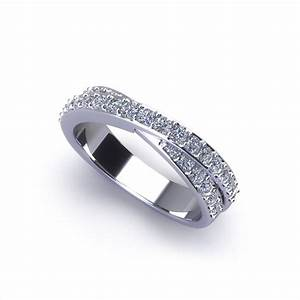 crossover diamond wedding ring jewelry designs With crossover wedding ring