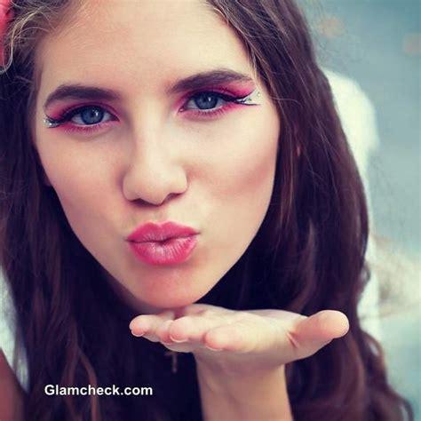 barbie inspired pink eye makeup diy