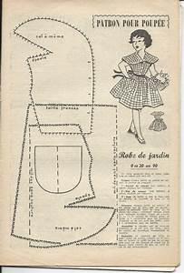 17 best poupee mireille images on pinterest vintage With patron robe poupee barbie
