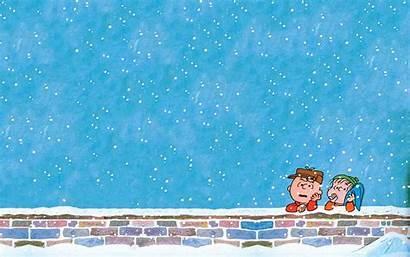 Christmas Brown Charlie Desktop Peanuts Wallpapersafari Wallpapertag