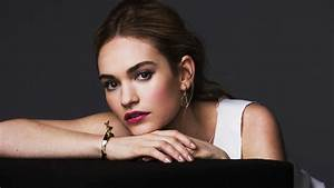 Lily James 2017 5K Wallpapers HD Wallpapers ID 20626