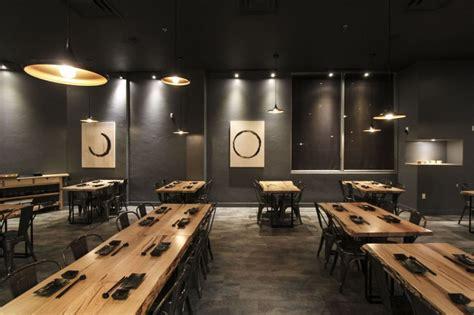 modern japanese design le japanese modern cuisine by atelier sun markham canada