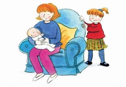 Sibling Clipart Siblings Rivalry Toddler Birth Sister