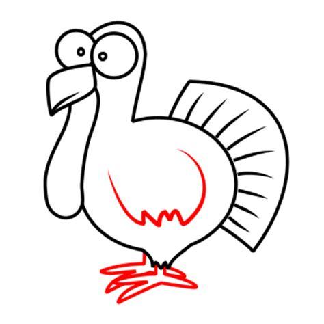 drawing a turkey
