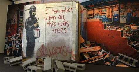 banksy detroit trees mural story remember