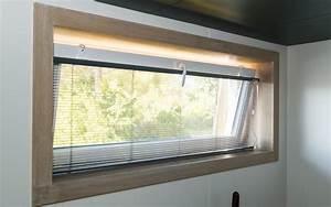 Peinture Encadrement Fenetre Interieur : encadrement bois pour fen tre am nagement int rieur la ~ Premium-room.com Idées de Décoration