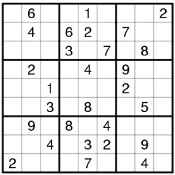 printable math sudoku puzzles for small and bigger