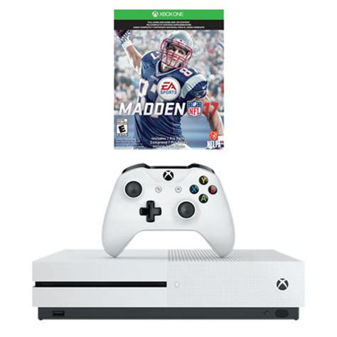 Xbox One S 1tb Madden Nfl 17 Bundle  Xbox One Consoles
