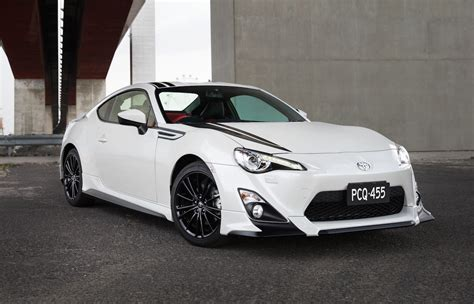 Toyota Of The Black by Trd Toyota 86 Blackline Edition On Sale In Australia From