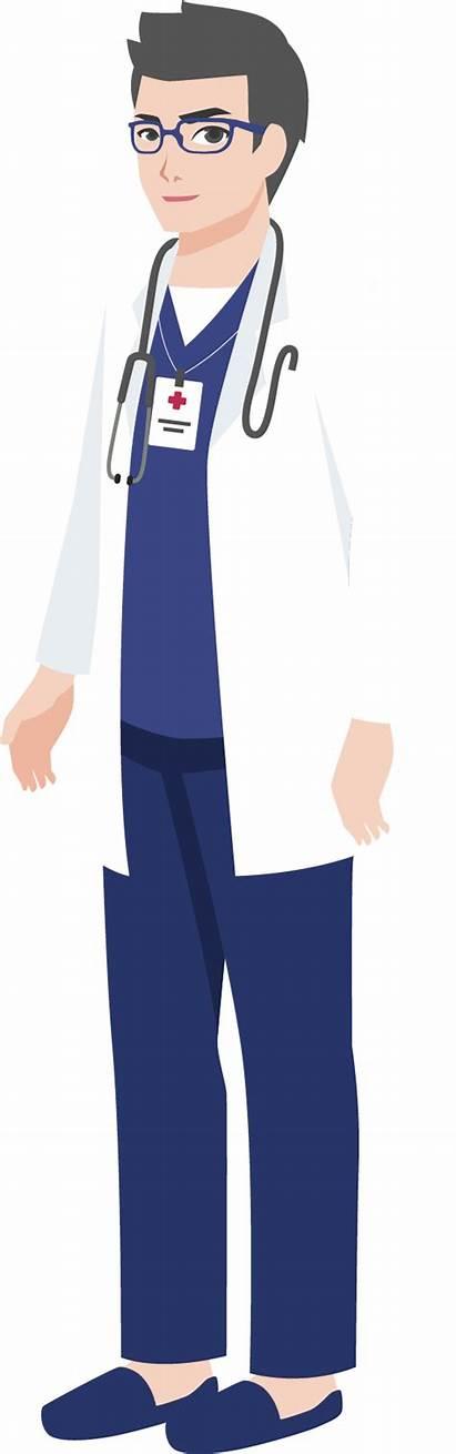 Doctor Transparent Cartoon Clipart Clip Illustration University
