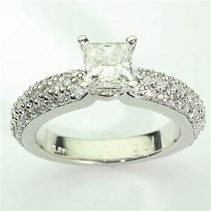 81094 pave diamond engagement ring kobe mark diamonds With pave diamond wedding rings