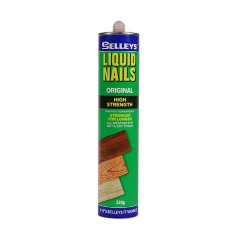 liquid nails selleys 320g liquid nails construction adhesive bunnings warehouse