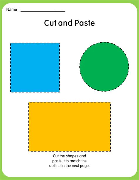 tracing shapes activity  home teacher