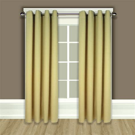 Material For Curtains Glasgow by Glasgow Grommet Top Window Panel