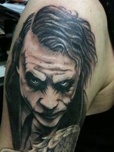 7+ Joker Tattoos On Half Sleeve