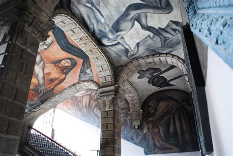 Jose Clemente Orozco Murales San Ildefonso by Mural In The San Ildefonso College