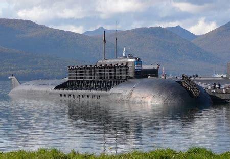 le sous marin nucl 233 aire le plus puissant du monde pr 233 sente tous ses missiles anti navires
