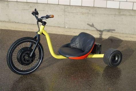 elektro drift trike elektro motor drift trike 1000 watt 48 volt 15ah lithium batterie in trasadingen kaufen bei auto