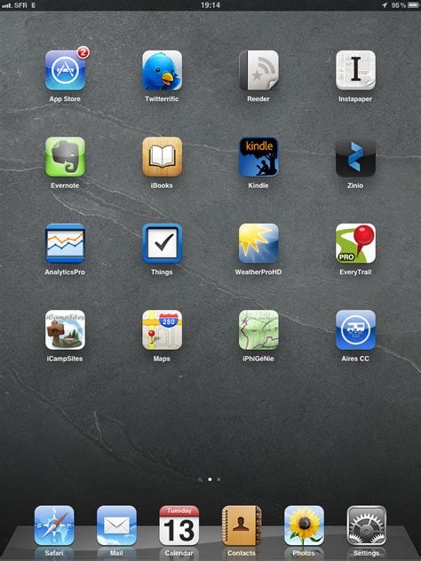 technology  ipad home screen app review