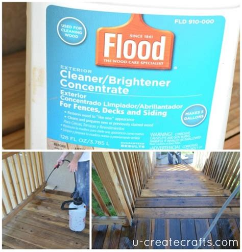flood wood care staining  simple guide  huge