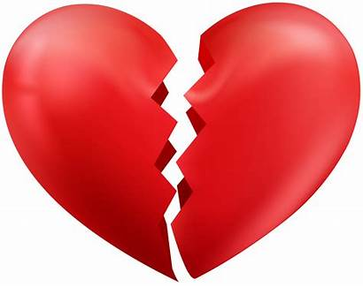 Broken Heart Transparent Clip Clipart Background Hearts