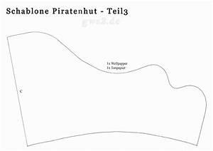 Schablonen Selber Machen Anleitung : piratenhut basteln anleitung und schablonen ~ Lizthompson.info Haus und Dekorationen