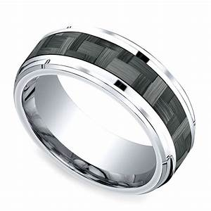 new carbon fiber rings from brilliance for the rugged groom With carbon fiber wedding rings for men