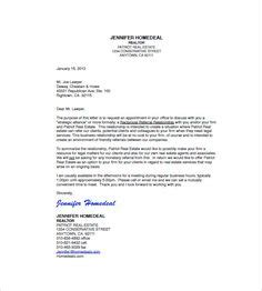 Realtor Resume Exles by Letter Of Introduction 41 Real Estate Introduction