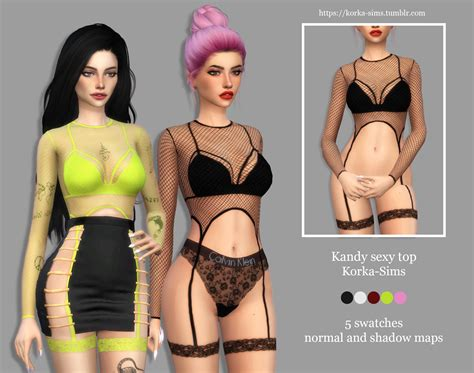 Korka Sims Kandy Sexy Top