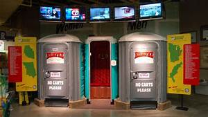 A little holiday cheer newlyweds in new york for Jungle jims bathrooms