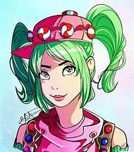fortnite zoey fan art drawings - fortnite female skins fan art