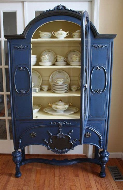 vintage bookcase for best 25 vintage china cabinets ideas on 6779