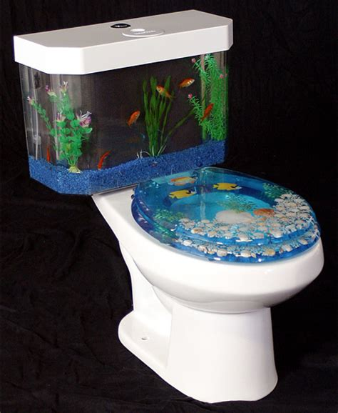 Cool Water Closet by Fish Tank Toilet It S A Thing The Luxury Spot